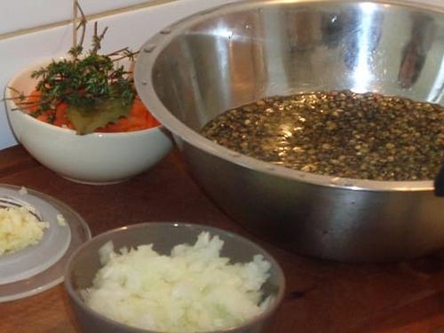 Cuisine végétarienne - Ustensiles de cuisine et ustensiles de cuisson