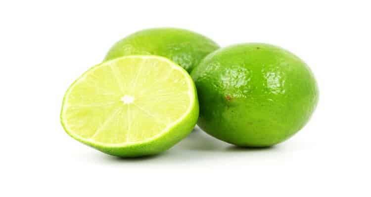 gaspacho vert et les citrons