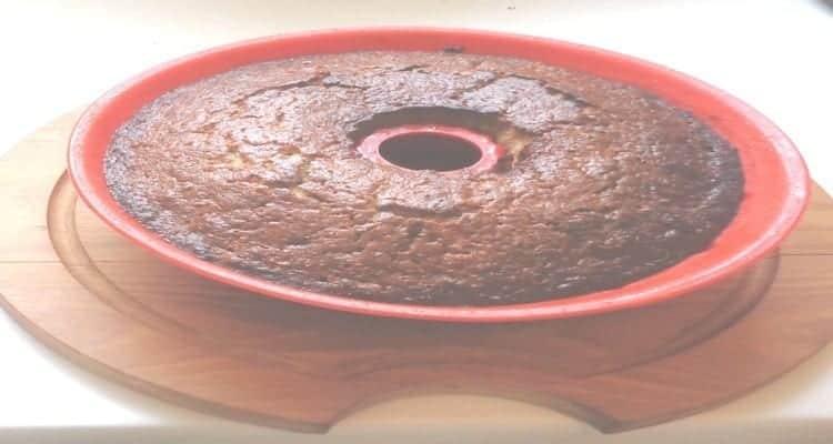 gâteau à la purée de banane, le moule de cuisson