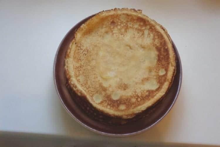 crêpe suzette la préparation de la pâte