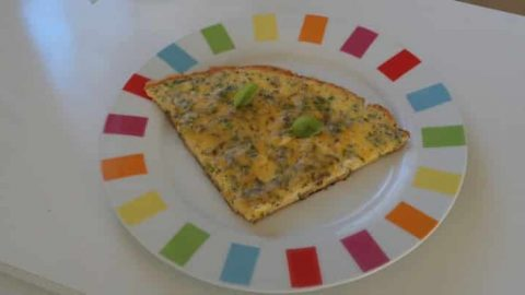 frittata courgettes