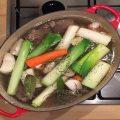 pot-au-feu, les légumes