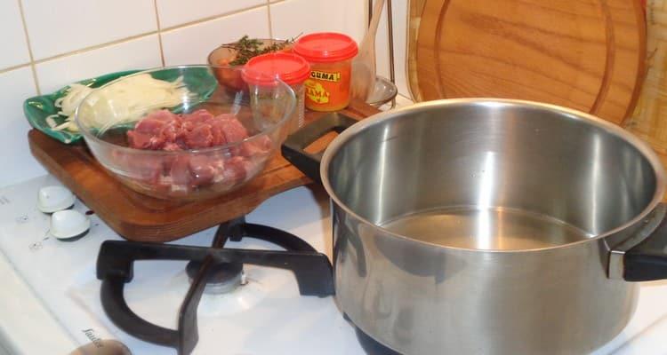 cuisson du rouelle de porc au massalé