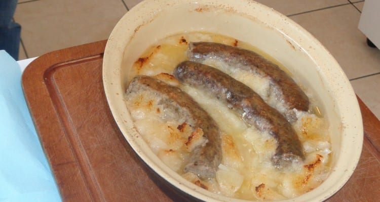 andouillette cuite au four