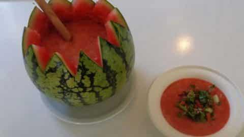 gaspacho pastèque