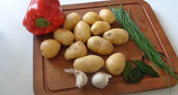 Cuisson des pommes de terre de Noirmoutier