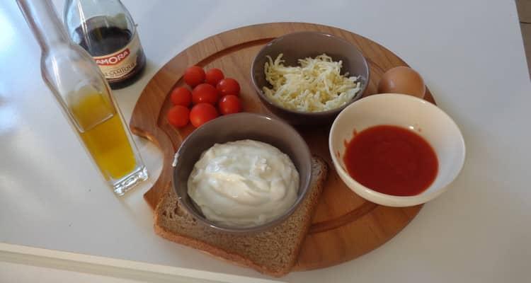 Tiramisu tomate avec fromage blanc et mascarpone