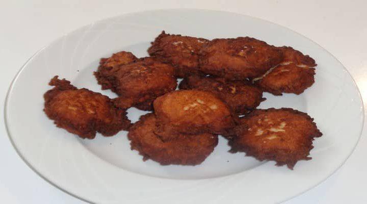 Galette racine manioc – cuisson des galettes manioc à la poêle.