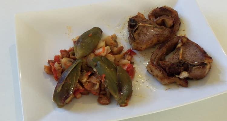 artichaut barigoule en assiette