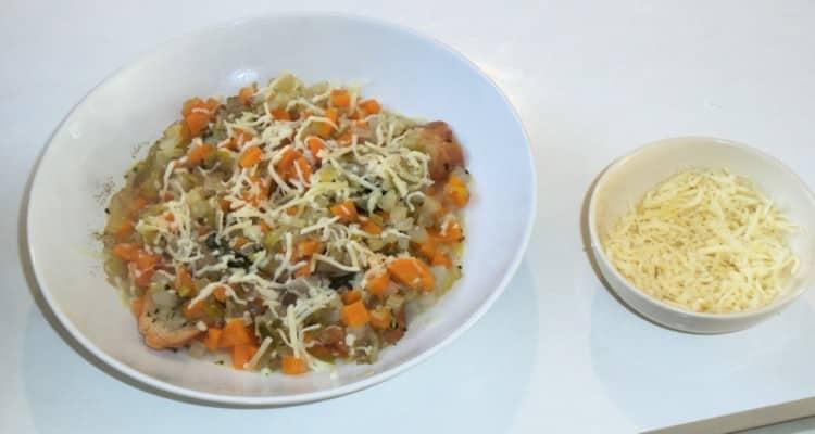 Soupe paysanne, chou poireaux carottes
