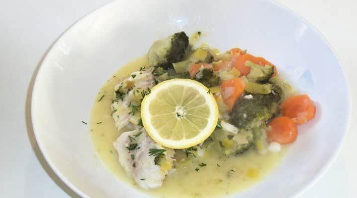 Recette marmite de la mer aux légumes crème fleurette.