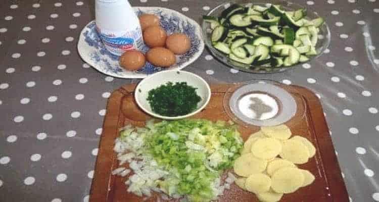 terrine 3 légumes, ingrédients de la recette