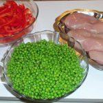 Filet de poulet poêlé, les indrédients de la recette