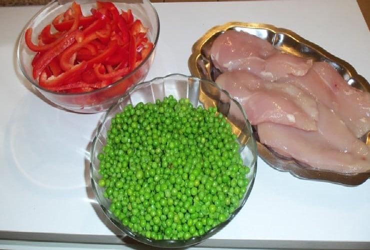 filet de poulet poêlé les ingrédients de la recette