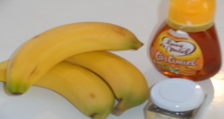 ingrédients pour réaliser la tarte tatin de banane