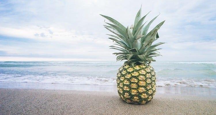 cuisine cubaine, l'ananas de cuba