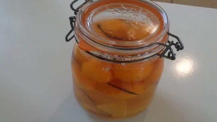 rhum arrange kumquat en bocal