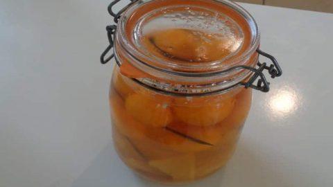 rhum arrangé kumquat en bocal