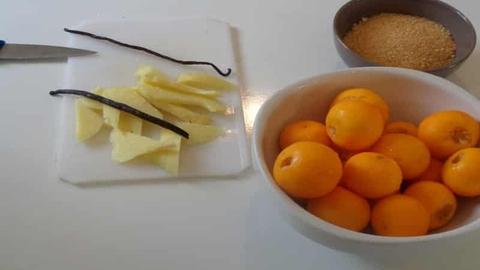 rhum arrangé kumquat petit fruit acidulé