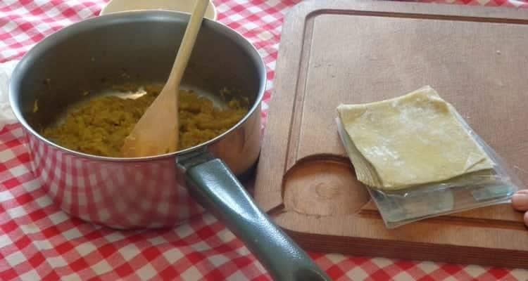cuisson et roulage des raviolis chouchou