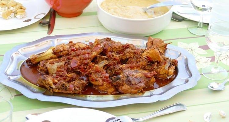 cari poulet 974, le plat de dégustation
