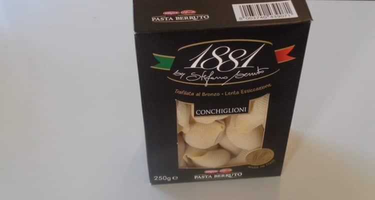 conchiglioni farci, la pâte italienne