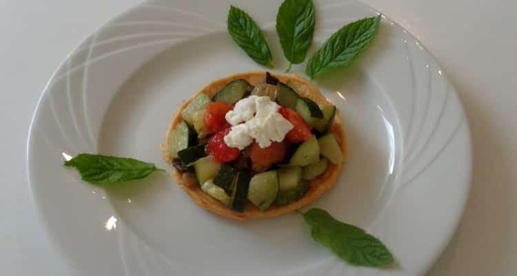 Petit Feuilleté aux Légumes d'Été - Entrée Chaude Délicate.