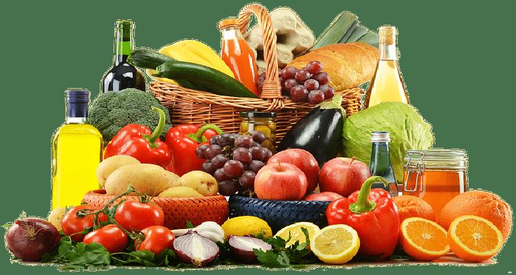 fruits et légumes de saisons, ingrédients