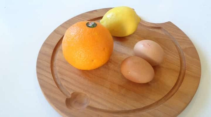 Tarte au Beurre d'Orange | cuisson de la garniture au bain-marie