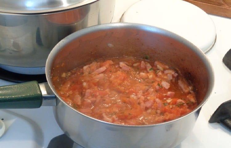 cuisson des tomates à la provençale