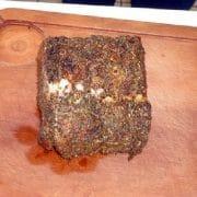 Rôti de porc - Pain de seigle