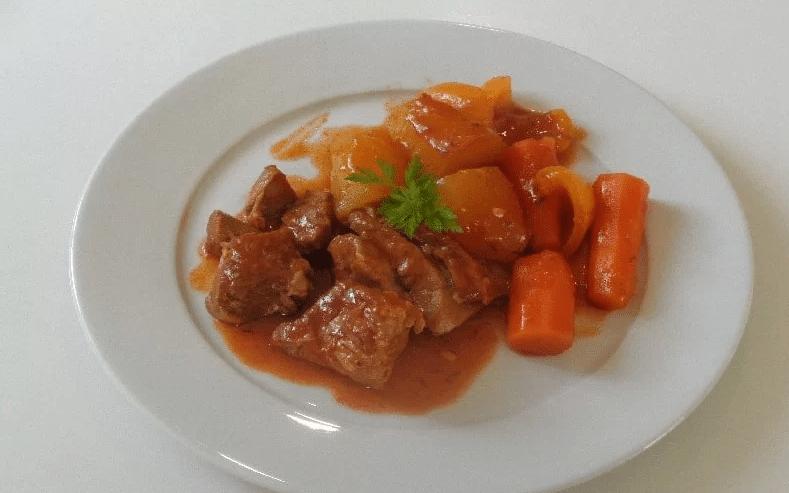 sauté de veau assiette