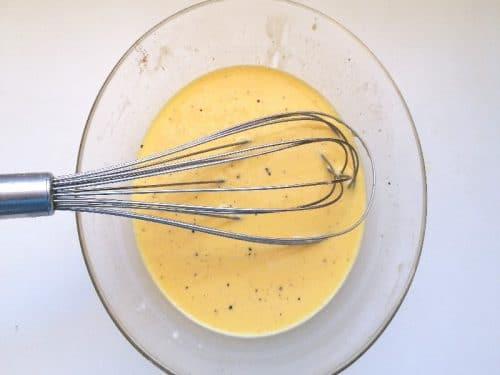 Hollandaise sauce - Crème anglaise