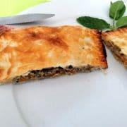 spanakopita - Petit pâté