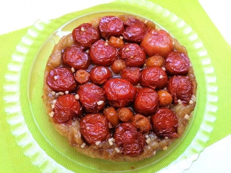 Boulette de viande - Tarte à la mélasse - tatin de tomates