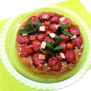 Cuisine végétarienne - Nourriture à manger avec les doigts