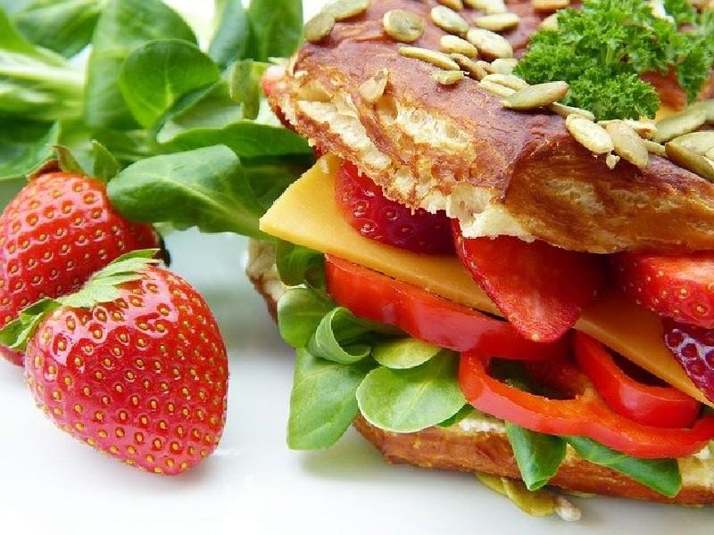 Petit déjeuner - Sandwich au petit déjeuner - séjour aux USA