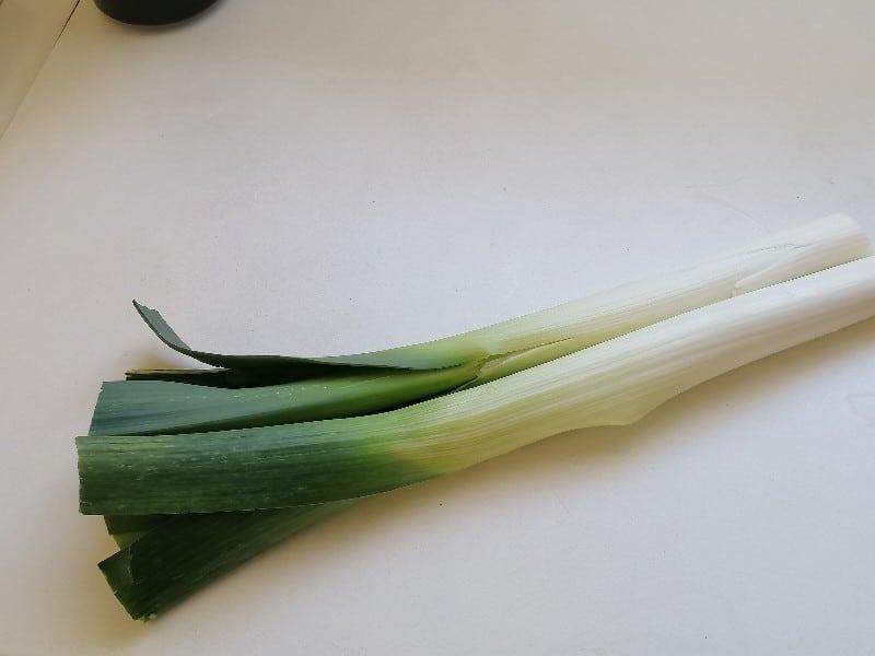 Scallion - Oignon gallois - soupe poireaux