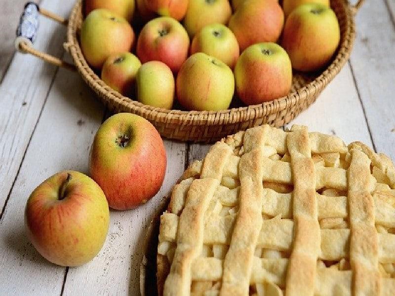 tarte aux pommes - Tarte