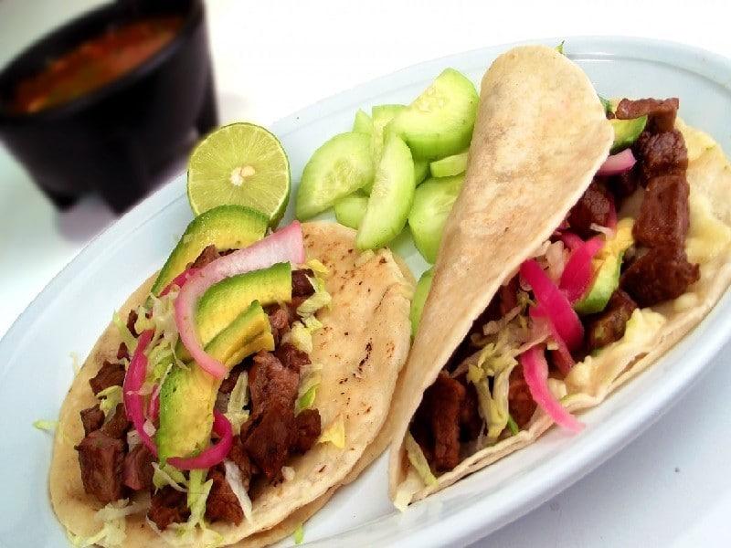 Taco - Cuisine mexicaine - séjour aux USA