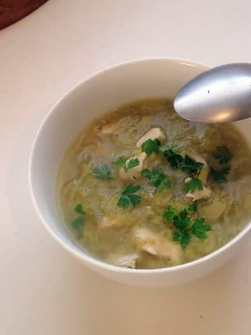 Soupe aux poireaux - Cuisine végétarienne