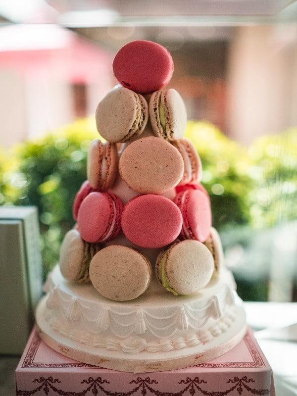 Macaron - Boulangerie - gateau de mariage parfait aux macarons