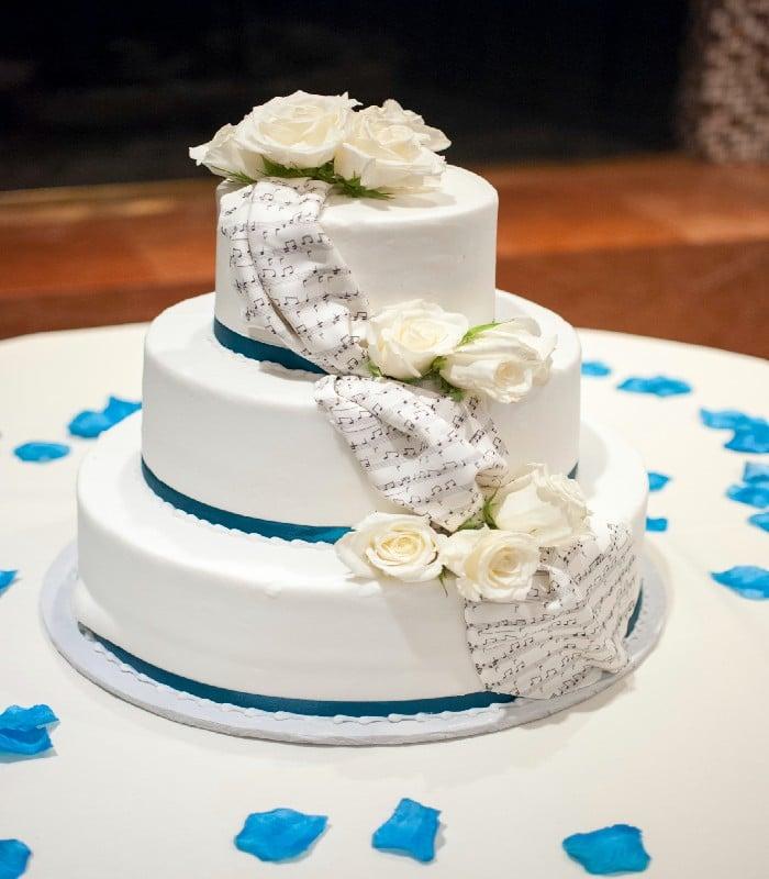 glaçage - gâteau - un gateau de mariage parfait