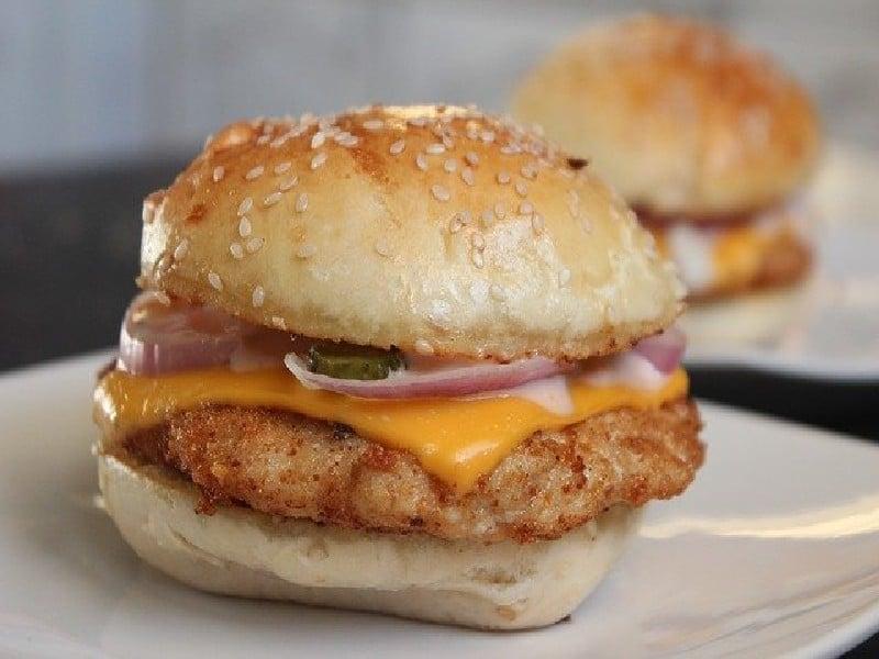 Hamburger - Poulet frit - emballages