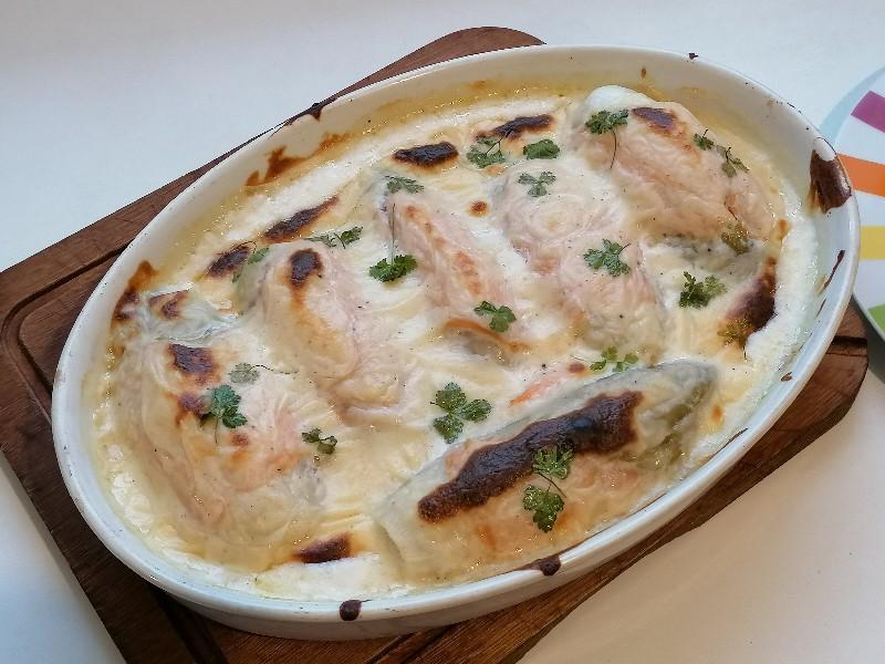 Gratin - Mitsui cuisine M - endives au saumon au four