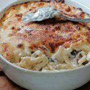Gratin - cuisine italienne - Gratin de pâtes viande hachée