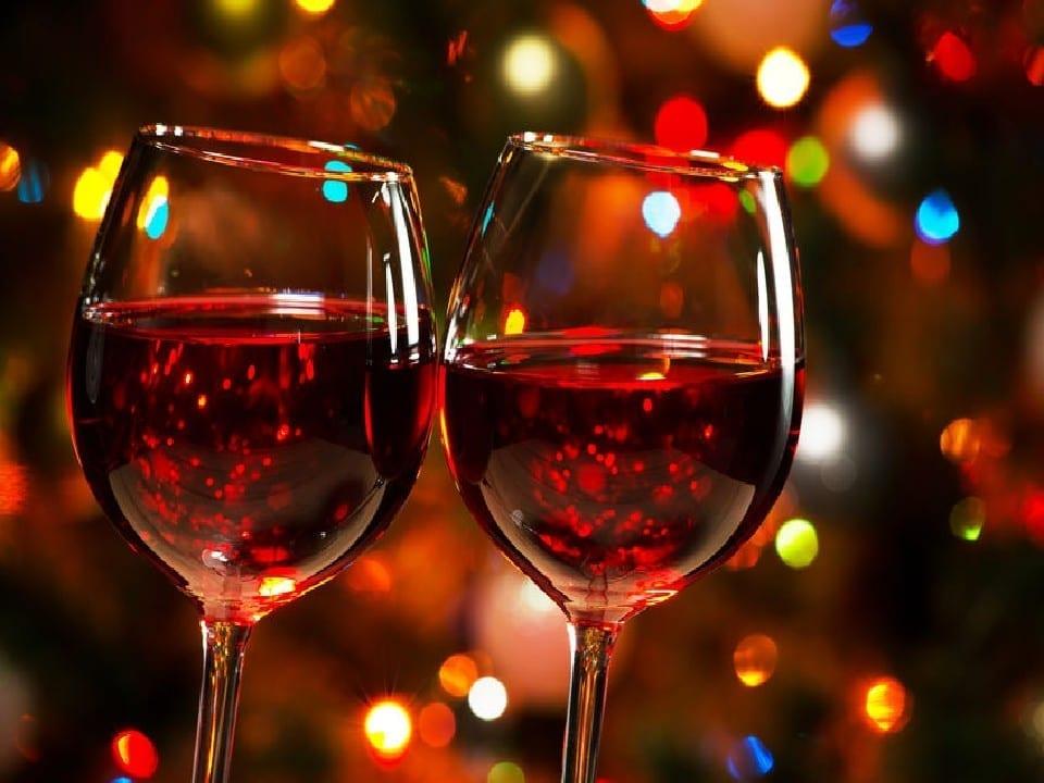 Du vin - le jour de Noël - la Saint Valentin