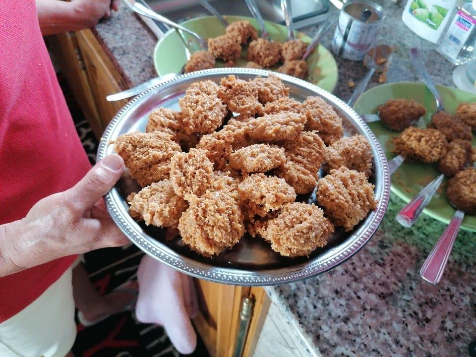 Nugget de poulet - Doigts de poulet - fondant coco