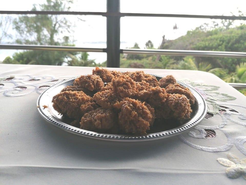 Boulette de viande - Beignet - fondant coco