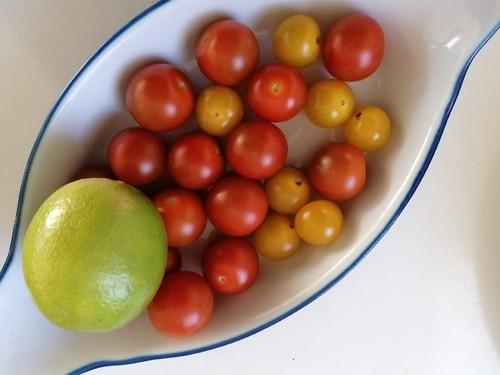 Tomate - Nourriture naturelle - cabillaud pané